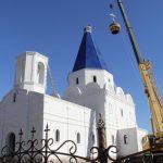 Raising the dome to the Blagoveshcheniya Presvyatoy Bogoroditsy Church 10.10.2017