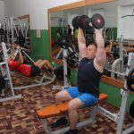"""Gym of the """"Khimik"""" sports and leisure Center"""