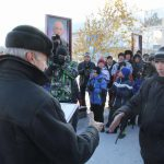 Opening of the alley of sports glory in Novotroitsk 16.10.2015