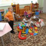 Kindergarten No. 30 Raduga. Here the company has created all conditions for recreation and activities of children